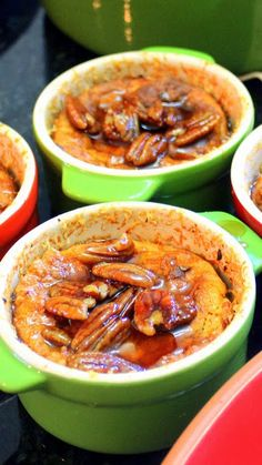 Sweet Potato Souffle with Maple Pecan Syrup