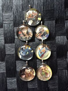 How To Train Your Dragon 2 Pendants / HTTYD by BlueRainbowDesigns