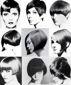 Vidal Sassoon haircut, 60s. #WesternFashion #albpinczo