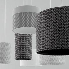 CMF we like / Lamp / Patern / White / Black /  lighting design / at leManoosh