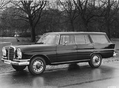 Mercedes Station Wagon AKA wagoneer baby! Ideas for the Jeep wagoneer