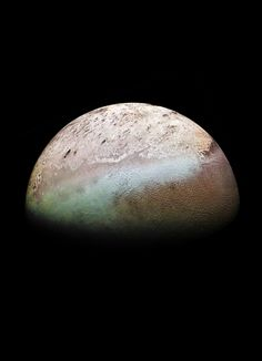 Triton, the largest moon of Neptune