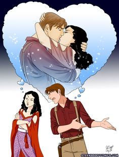 yes, you could definitely read their minds....Mal and Inara...*sigh* oh how I miss them!
