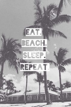 Our summer routine.