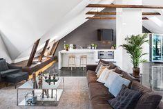 Modern scandinavian style living room