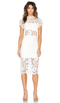 Shop for Alexis Leona Dress in White Lace at REVOLVE. Free 2-3 day shipping and returns, 30 day price match guarantee.