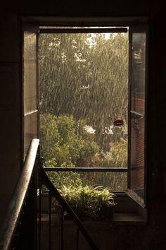 Rainy Mood, Rainy Days, Rainy Night, Aesthetic Photo, Aesthetic Pictures, Summer Aesthetic, Rainy Window, All The Bright Places, I Love Rain
