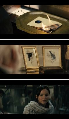 screenshots from some deleted scenes we will be getting on the Catching Fire DVD on March 7th