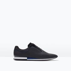 ZARA - MAN - CASUAL CONTRAST LACE-UPS SHOES