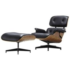 Eames Lounge Chair & Ottoman by Herman Miller Designed by Charles and Ray Eames in 1956. Part of the Herman Miller® Collection The Story: The quintessential modern classic, having been the subject of documentaries and books and a timeless design that's remained fresh and recognizable for more than 55 years.