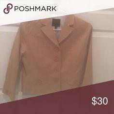 Blazer Like New! Blazer 97%cotton, lined. The Limited Jackets & Coats Blazers