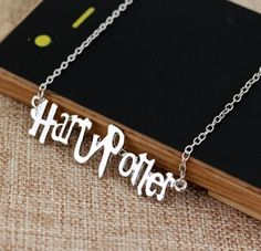 Harry Potter Necklace by GifthyClub on Etsy