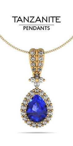 30ct round tanzanite pendant with 02ctw diamonds in 14k yellow gold tanzanite pendants at top tanzanite shop the largest online selection of expertly crafted jewelry aloadofball Images