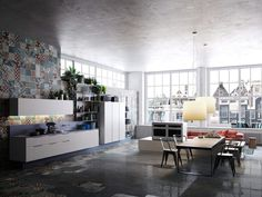 32 Industrial Fashion Kitchens That Will Make You Fall In Love