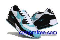 check out beb83 3070a Comprar barato hombre Nike Air Max Zapatillas (color blanco,negro,azul) en  linea en Espana.