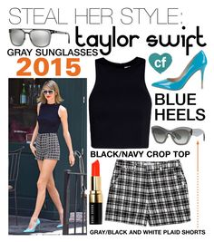 """Steal Her Style: Taylor Swift"" by campbellfauber ❤ liked on Polyvore featuring BCBGeneration, T By Alexander Wang, Lucy Paris, Emporio Armani, Miu Miu, Bobbi Brown Cosmetics and cfstylesteal"