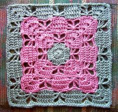 butterfly granny squares | Butterfly Garden