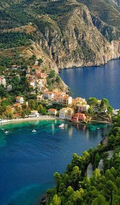 Bucket list : places to visit : Assos, Kefalonia Island, Greece