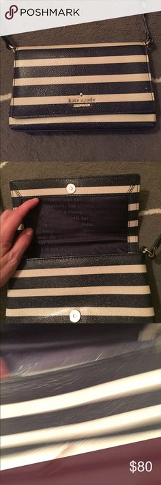 Kate spade shoulder and crossbody bag. Only used a few times. Perfect for date night or a night out with the girls!! kate spade Bags Crossbody Bags