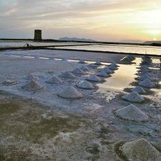 Tramonto alle saline - Nubia - Sicily
