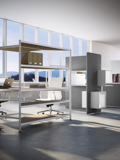 New workspaces by Fantoni presented at Orgatec White Desk Office, Open Space Office, White Desks, Office Desks, Diy Kids Furniture, Small Furniture, Luxury Furniture, Discount Furniture, Online Furniture