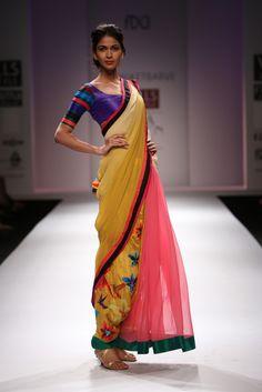 wills spring & summer indian fashion week 2013