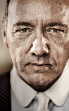Kevin Spacey. Photographer unknown to me. The eyes. The eyes! Nice bit of post production to wash out the color but ratchet up the texture.