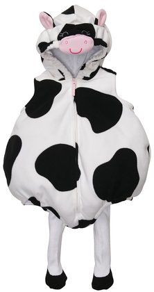 Bubble cow costume $20  sc 1 st  Pinterest & Diy baby cow costume. White onesie u0026 baby hat. Black u0026 pink felt ...
