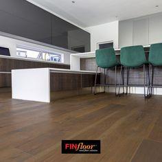 FinOak colour Cashmere dark brown Vinyl Wood Flooring, Dark Brown, Solid Wood, Cashmere, Colour, Table, Furniture, Home Decor, Color