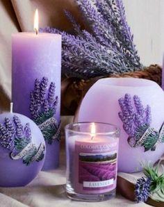 Lovely Lavender ༺ღ Lavender Cottage, Lavender Garden, Lavender Blue, Lavender Fields, Lavender Flowers, Purple Flowers, Lavander, Lavender Candles, Purple Love