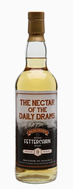 FETTERCAIRN 1988 28 Year Old Daily Dram, Highlands