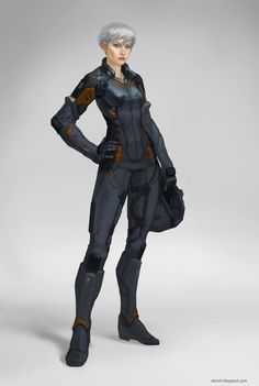 Character concepts by Aleksey Kovalenko, via Behance