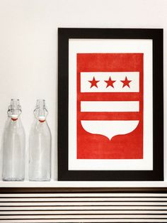 The District | Washington, DC Letterpress Print - Old Try - ´X°