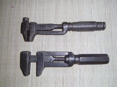 ..Vintage Adjustable Wrenches..classic tools