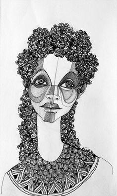 Brianna McCarthy, Love + Loss I ink and graphite. 2010.