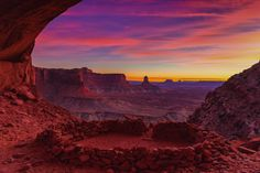 """False Kiva is an off the beaten path destination located in the """"Island in the Sky"""" district of Canyonlands National Park, a bit outside of Moab, Utah."""
