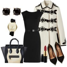 A fashion look from November 2013 featuring NIC+ZOE dresses, Givenchy pumps y MICHAEL Michael Kors watches. Browse and shop related looks.