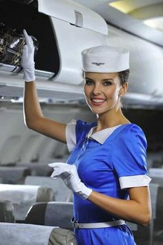 Windrose Airlines cabin crew