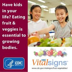 The amount of veggies kids ate from 2003-2010 did not change, and was too low. Find out more: http://go.usa.gov/EYuP . #VitalSigns