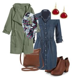 Crazy New England Weather by jenmartin1987 on Polyvore featuring polyvore, fashion, style, maurices, M&Co, Karen Kane and clothing