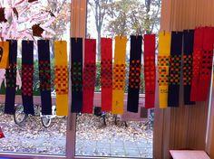 Gevlochten sjaal. Juf marielle
