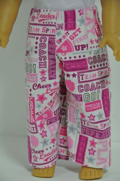 American Girl Doll Clothes  Flannel Pajama Pants by CircleCSewing,