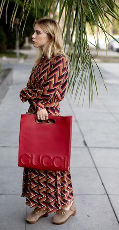 Courtney Trop of Always Judging in Gucci Resort 2016.
