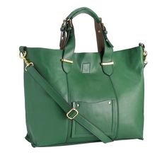 Green maxi bag by Accessorize