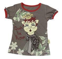 Ooh La Lion Tee Handmade 100% cotton