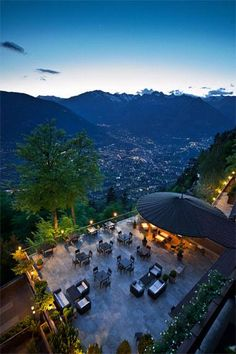 Nestled on the side of a mountain in northern Italy, the Miramonti Hotel offers a mix of modern amenities and rich history. The original hotel opened in 1932, and has been rebuilt and remodeled several times over the decades to become the sleek, minimalist jewel you see today.