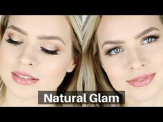 Natural Glam & Glow Makeup Tutorial | KayleyMelissa - YouTube