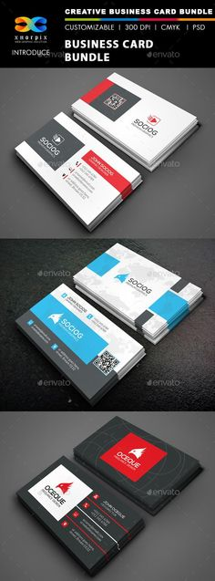 Business Card Bundle 3 in 1-Vol 45