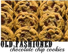 Old-Fashioned Chocolate Chip Cookies Recipe