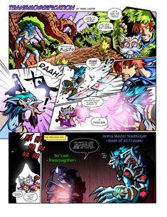 WoW Comic - Transmogrification by Lukali.deviantart.com